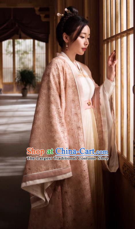 Chinese Ancient Hanfu Dress Drama Queen Dugu Northern Zhou Dynasty Princess Historical Costume for Women