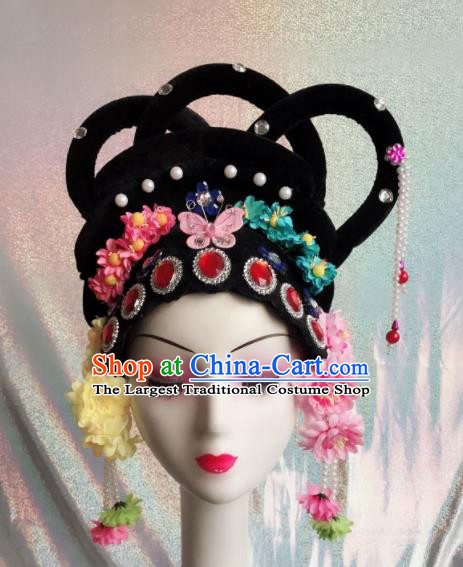 Chinese Traditional Beijing Opera Wigs and Hairpins Peking Opera Peri Hair Accessories for Women