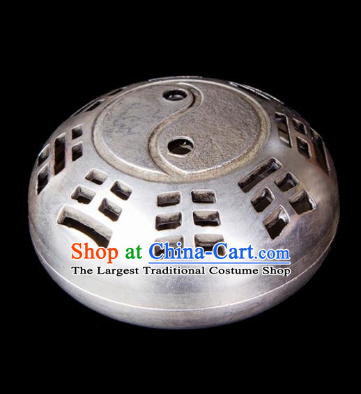 Chinese Traditional Taoism Bagua Brass Incense Burner Feng Shui Items Censer Decoration