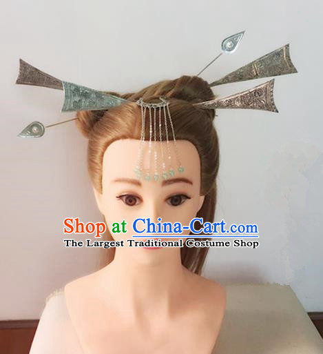 Handmade Chinese Traditional Hanfu Hairpins Ancient Tang Dynasty Imperial Consort Hair Accessories for Women