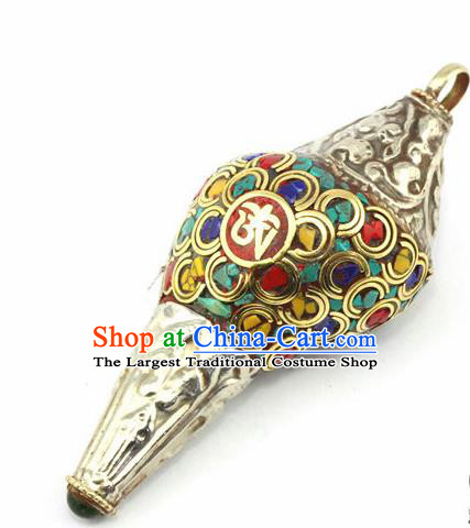 Chinese Traditional Feng Shui Items Buddhism Conch Buddhist Copper Musical Instrument