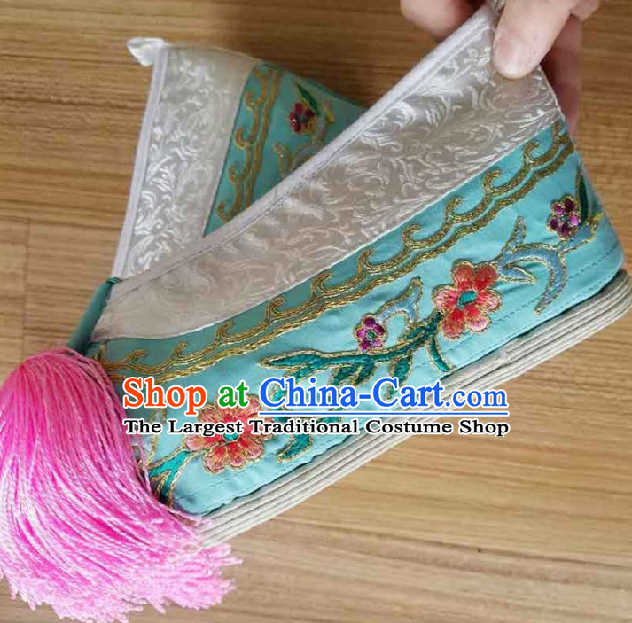 Chinese Traditional Shoes Ancient Beijing Opera Shoes Hanfu