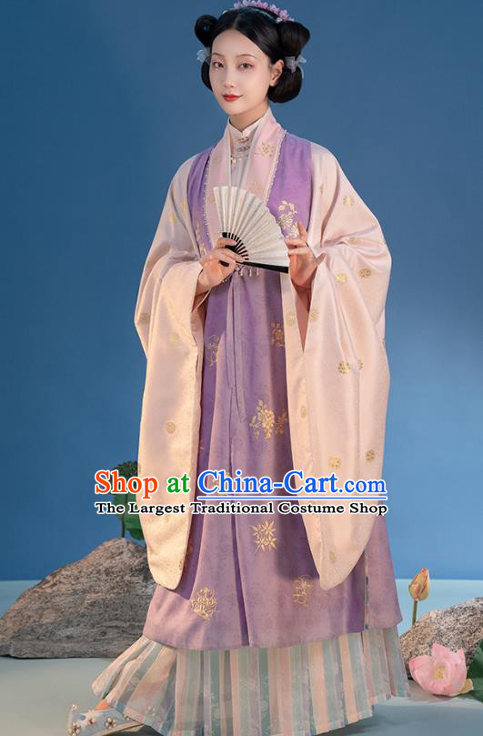 China Ancient Princess Costumes Traditional Nobility Women Clothing Ming Dynasty Court Hanfu Dress