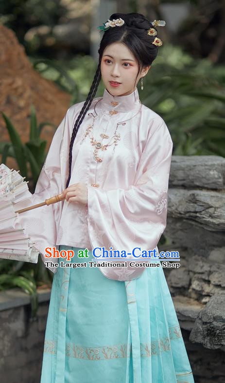 China Ancient Royal Princess Costumes Traditional Ming Dynasty Noble Female Apparels Patrician Clothing