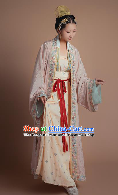 Ancient China Song Dynasty Historical Costumes Traditional Court Hanfu Imperial Consort Clothing