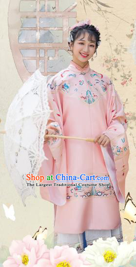 Chinese Traditional Ming Dynasty Dame Blouse and Skirt Ancient Royal Infanta Historical Costumes for Women